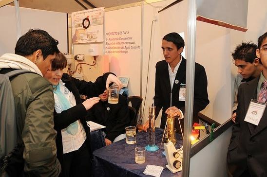 Photo of San Justo: Fernando Espinoza inauguró la muestra de ciencias 2013