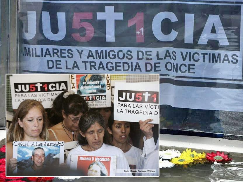 Tragedia de Once: Satisfacción de familiares y víctimas por el juicio a Julio de Vido