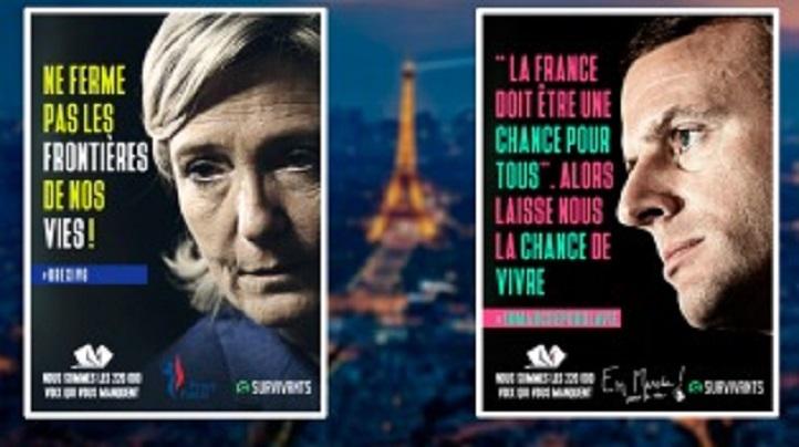 Photo of Estaciones del metro de París amanecieron cubiertas de carteles