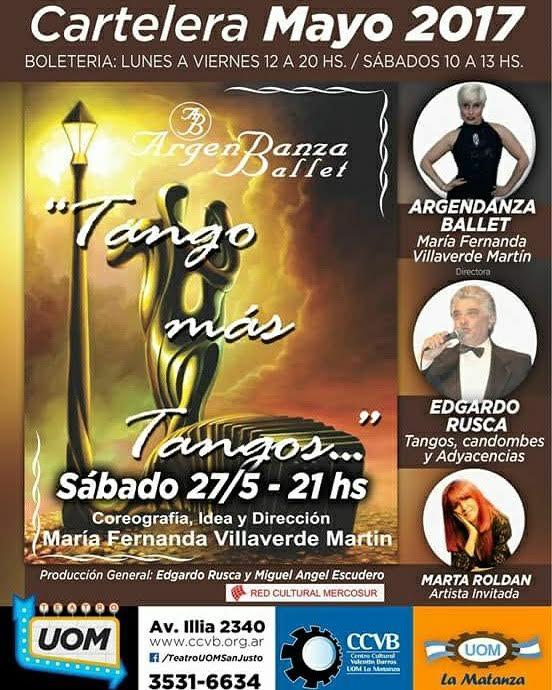 Photo of La Matanza y Morón se fusionan en un jugado espectáculo de Tango