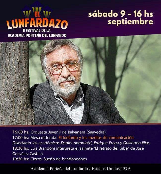 Photo of Se viene el LUNFARDAZO, el II Festival de la Academia Porteña del Lunfardo
