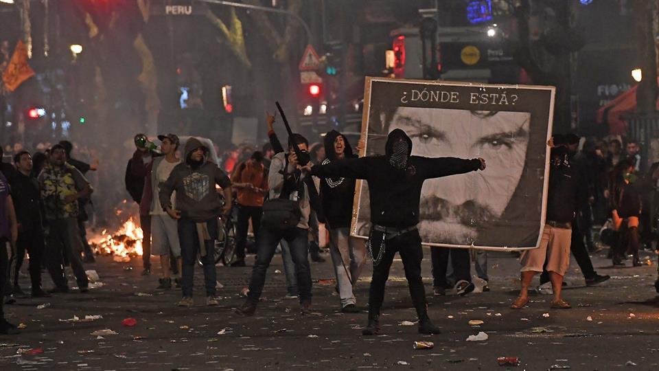 Photo of Periodistas agredidos en la marcha por Santiago Maldonado