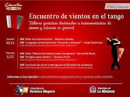 """Photo of Primer """"Encuentro de vientos en el tango"""" en La Matanza"""