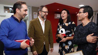 Photo of Tagliaferro felicitó a la pareja de tango moronense que representó al distrito en China