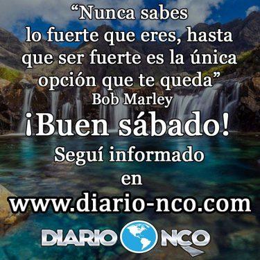 #BuenSabado Frase del Día en DiarioNCO