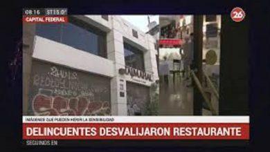 Photo of Violento robo en reconocido restaurante de Palermo