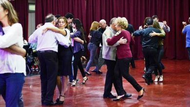 Photo of Milonga en la UNLaM: la gente vino a bailar el tango y a disfrutar de música en vivo