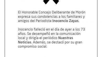 Photo of HCD expresa sus condolencias por el fallecimiento de Inocencio Zayas