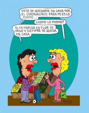 #Buen Viernes Humor en Diario NCO 27-03-2020