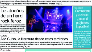 Photo of #Buen Martes Leé la edición impresa de Diario NCO del 17-03-2020