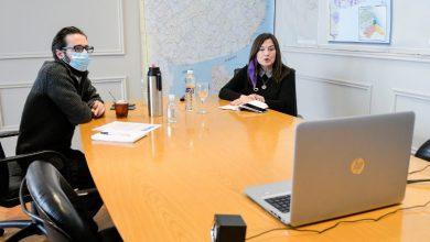 Photo of La ministra Estela Díaz y el Ministro Agustín Simone iniciaron la capacitación en Ley Micaela en Infraestructura