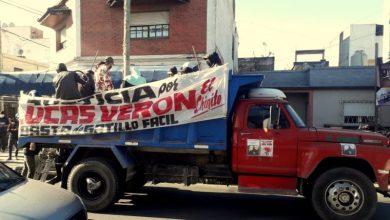 Photo of Concentración frente a los Tribunales al mes del asesinato de Lucas Verón
